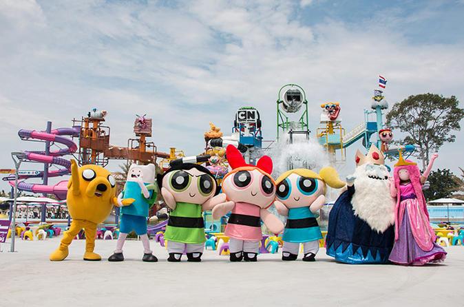 【卡通頻道水上樂園 Cartoon Network Amazone】可愛又好玩的水上樂園, 讓你一家大小玩得不亦樂乎!