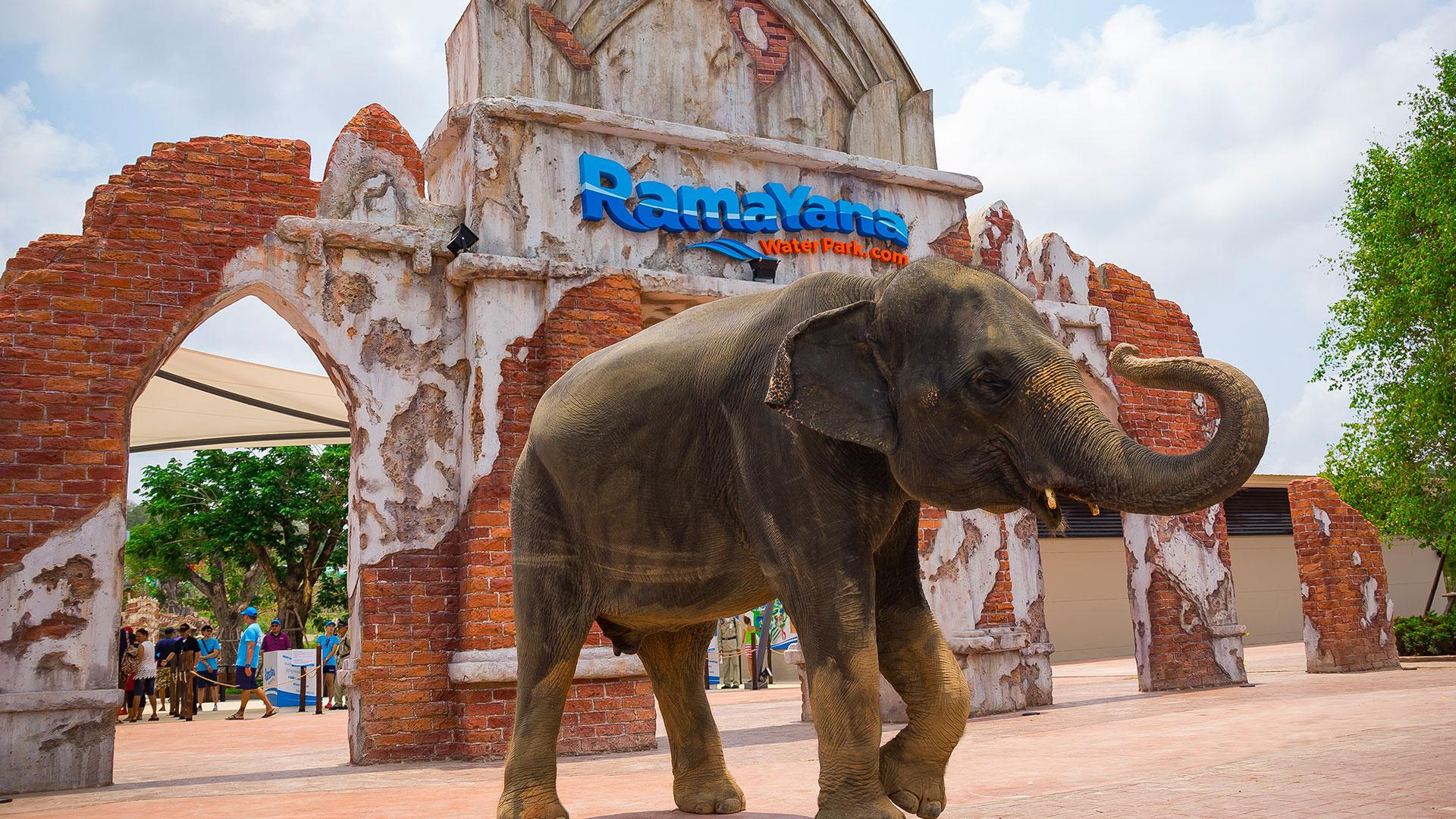 【羅摩衍那水上樂園RamaYana Water Park】東南亞最大最新穎刺激的水上主題樂園,讓你清涼消暑一整天!