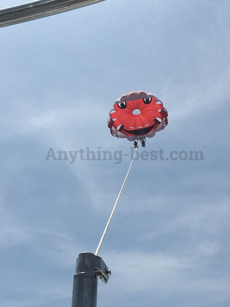 峇里島拖曳傘