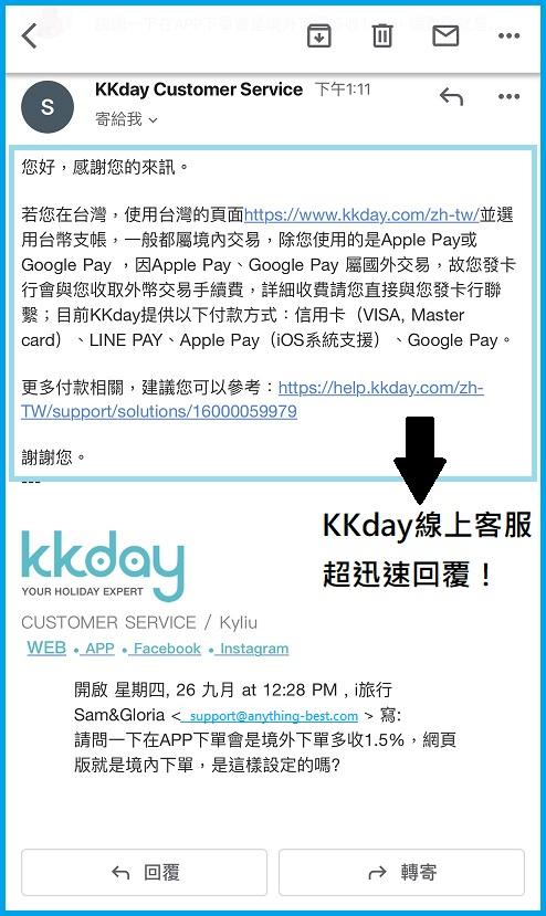 KKday客服