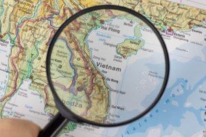 越南世界地圖