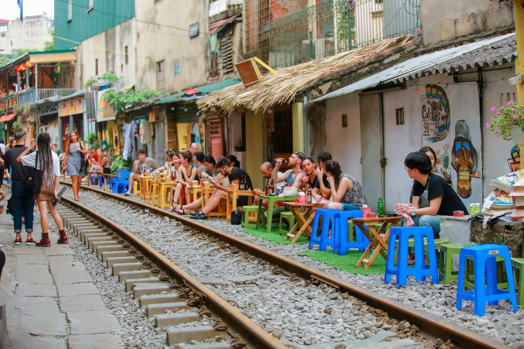 Hanoi Street Train