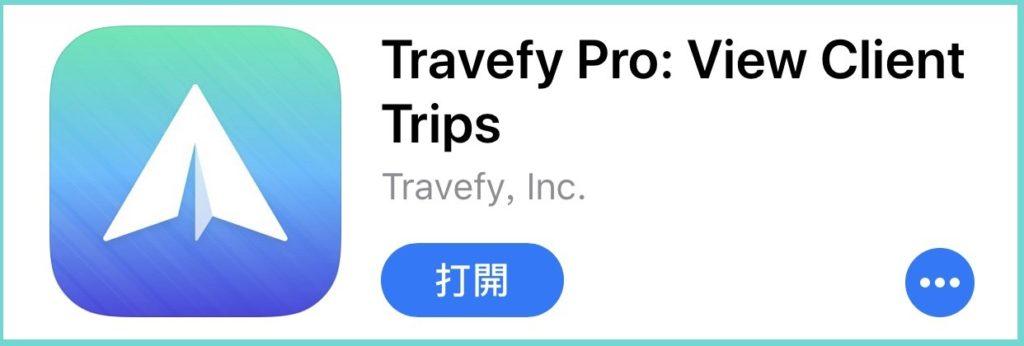 Travefy Pro App