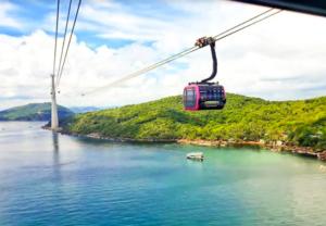全球最長跨海纜車